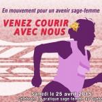 Kalina Aucoin-Crête, étudiante sage-femme, défi 5km, 50$