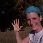 Magalii Coursange, étudiante sage-femme, défi 5 km, 50$